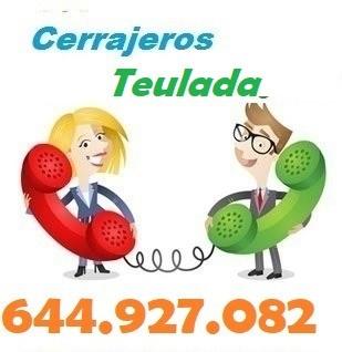 Telefono de la empresa cerrajeros Teulada
